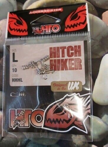 HTO Hitch Hiker size large 10 per pack, for use with soft plastic lures